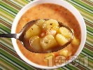 Рецепта Картофена супа със сметанова застройка